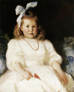 Art Prints of Portrait of Elizabeth Tyson Russell by Frank Weston Benson
