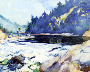 Art Prints of Pool on the York by Frank Weston Benson