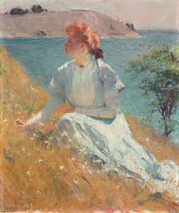 Art Prints of Margaret Gretchen Strong by Frank Weston Benson