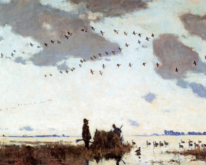 Art Prints of Goose Blind by Frank Weston Benson