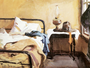 Art Prints of Fisherman's Bedroom, Eastham, Massachusetts by Frank Weston Benson