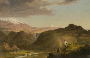 Art Prints of South American Landscape II by Frederic Edwin Church
