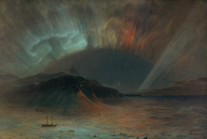 Art Prints of Aurora Borealis by Frederic Edwin Church