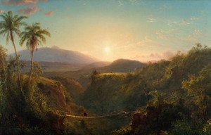 Art Prints of Pichincha, Equador by Frederic Edwin Church