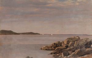 Art Prints of Mount Desert Island, Maine Coast by Frederic Edwin Church