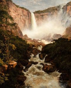 Art Prints of Falls of Tequendama near Bogata, New Granada by Frederic Edwin Church