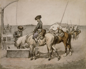 Art Prints of An Amoor Cossack by Frederic Remington
