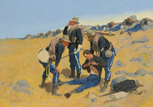 Art Prints of Call the Doctor by Frederic Remington