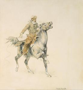 Art Prints of The Cowboy by Frederic Remington