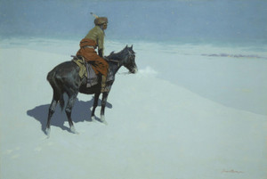 Art Prints of The Scout, Friends or Enemies by Frederic Remington