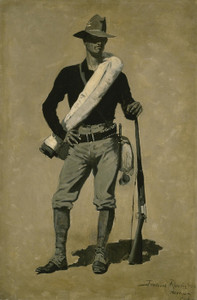 Art Prints of U.S. Soldier, Spanish American War by Frederic Remington