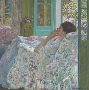 Art Prints of Afternoon, Yellow Room by Frederick Carl Frieseke