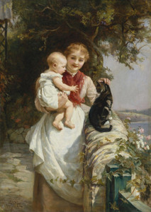 Art Prints of Motherly Love by Frederick Morgan