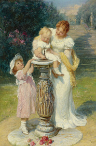 Art Prints of Sunny Hours by Frederick Morgan