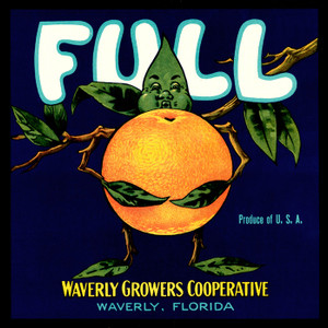 Art Prints of |Art Prints of 090 Full Oranges, Fruit Crate Labels