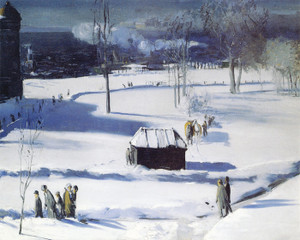 Art Prints of |Art Prints of Blue Snow, the Battery by George Bellows