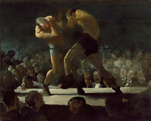 Art Prints of |Art Prints of Club Night by George Bellows