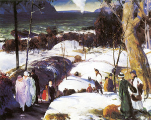 Art Prints of |Art Prints of Easter Snow by George Bellows