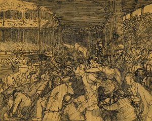 Art Prints of  Art Prints of Kill the Empire by George Bellows