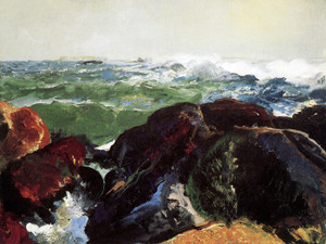 Art Prints of |Art Prints of Monhegan Island by George Bellows