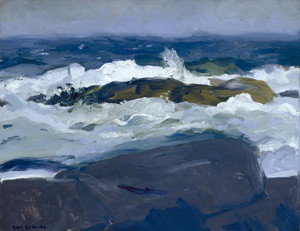 Art Prints of |Art Prints of Rock Reef, Maine by George Bellows