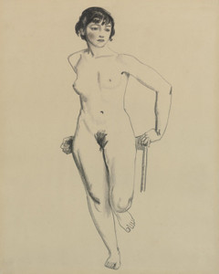 Art Prints of |Art Prints of Standing Nude by George Bellows