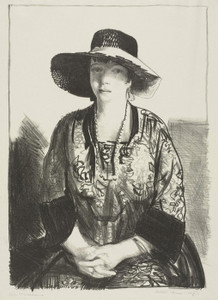Art Prints of The Black Hat by George Bellows