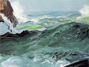 Art Prints of Wave by George Bellows