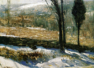 Art Prints of The Stone Fence by George Bellows