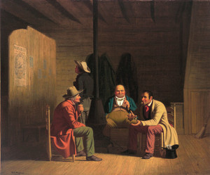 Art Prints of Country Politician by George Caleb Bingham