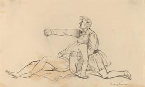 Art Prints of The Death of General Warren by George Caleb Bingham