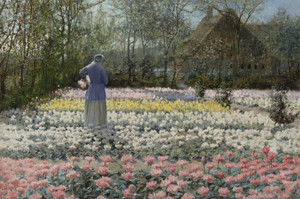 Art Prints of Tulip Culture by George Hitchcock