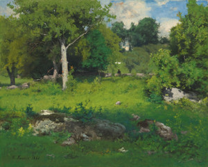 Art Prints of A June Day by George Inness