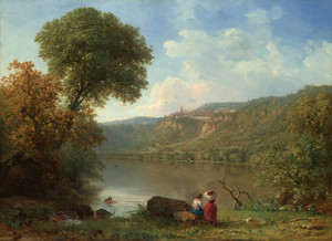 Art Prints of Lake Nemi by George Inness