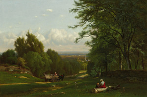 Art Prints of Near Leeds, New York by George Inness