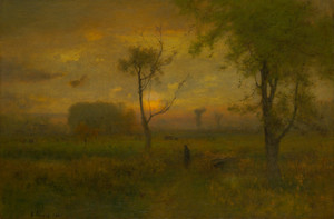 Art Prints of Sunrise by George Inness