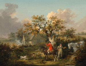 Art Prints of Partridge Shooting by George Morland