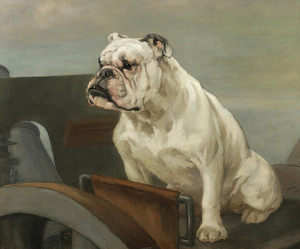 Art Prints of Bulldog at the Defenses by George Vernon Stokes