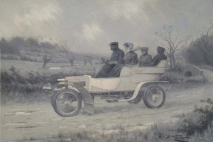 Art Prints of Driving Rain by George Wright
