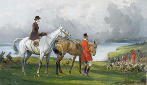 Art Prints of Kill on the Cliffs by George Wright