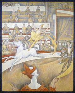 Art Prints of The Circus by Georges Seurat