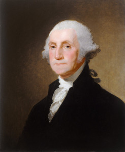 Art Prints of George Washington 1821 by Gilbert Stuart