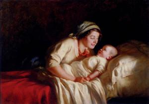 Art Prints of Bedtime by Giuseppe Magni