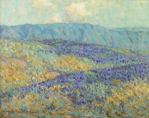 Art Prints of Blue Flowers by Granville Redmond