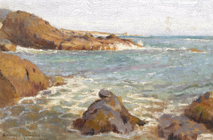 Art Prints of Rocky Coast by Granville Redmond