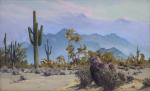 Art Prints of Cacti and Mountains by Gunnar Widforss