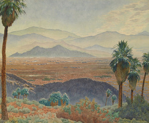 Above Tahquitz Canyon, Palm Springs by Gunnar Widforss | Fine Art Print