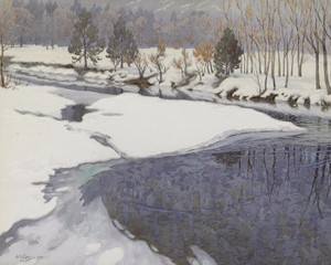 Art Prints of Yosemite Winter by Gunnar Widforss