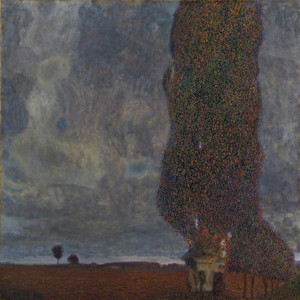 Art Prints of Approaching Thunderstorm, the Large Poplar II by Gustav Klimt