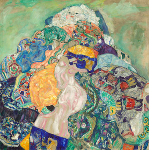 Art Prints of Baby or Cradle by Gustav Klimt